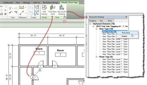 Adding Size Of Door To Floor Plan Revit