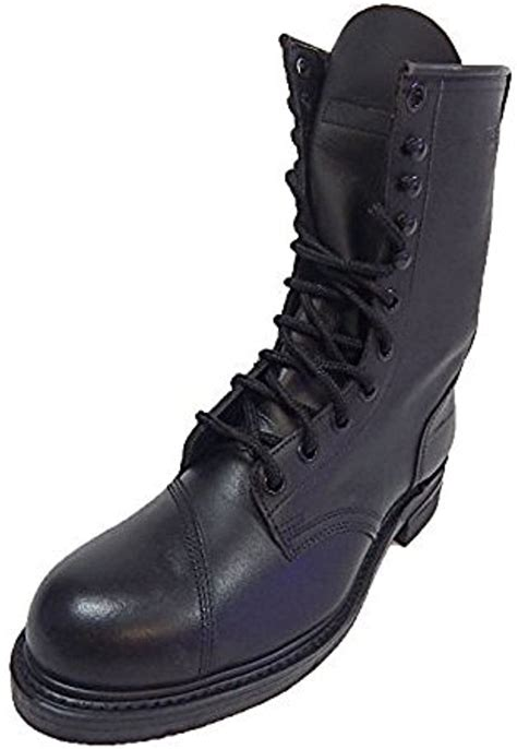 Addison Men's Military Issue Steel Toe Leather Climbers' Boot US