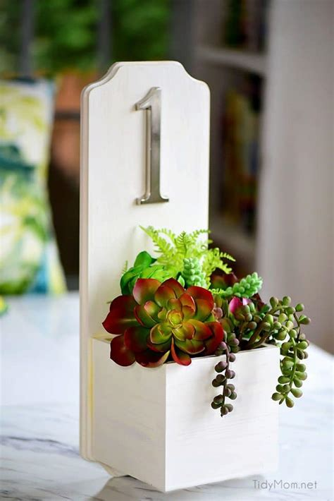 Address Planter Box Diy