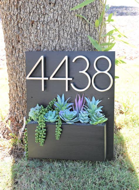 Address-Planter-Box-Diy