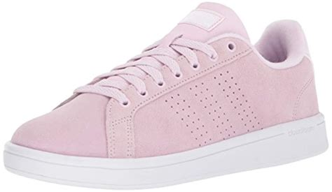 Adidas Advantage Clean Women's Suede Sneakers Pink