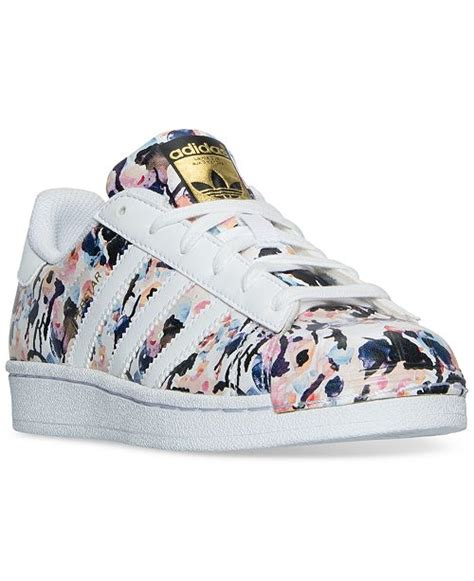 Adidas Big Girls Superstar Casual Sneakers
