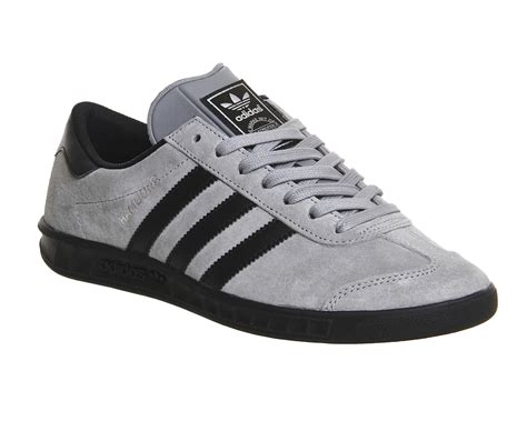 Adidas Black And Grey Sneakers
