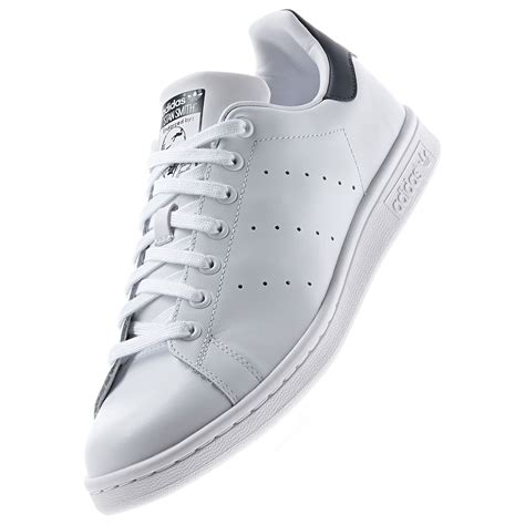 Adidas Black And White Classic Stan Smith Tennis Court Sneakers