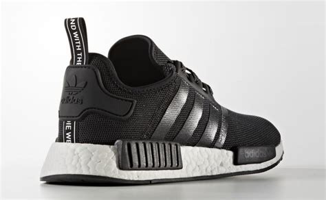 Adidas Black And White Nmd Sneakers