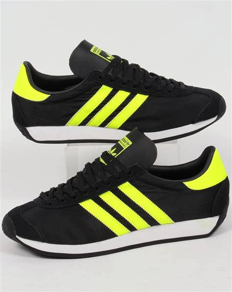 Adidas Black And Yellow Sneakers