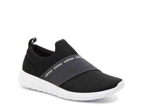 Adidas Black Slip On Sneakers