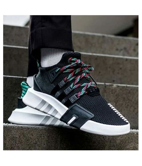 Adidas Black Sneakers India