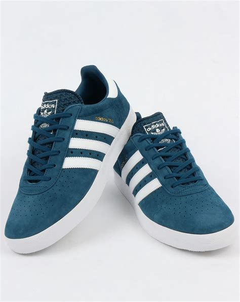 Adidas Blue And White Sneakers