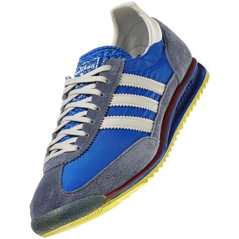 Adidas Blue Sneakers Retro