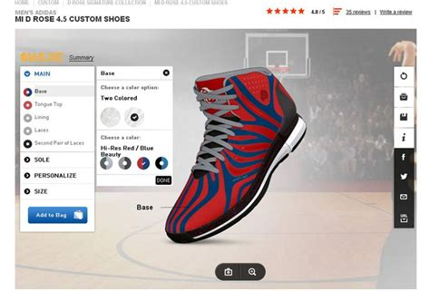 Adidas Build Your Own Sneaker
