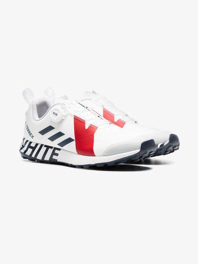 Adidas By White Mountaineering White Terrex Two Boa Lace-up Sneakers