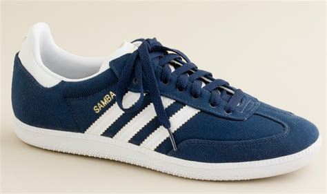 Adidas Canvas Samba Sneakers