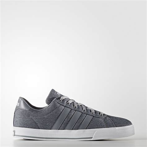 Adidas Daily Gray White Sneakers