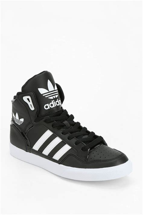 Adidas Extaball Black High-top Sneakers