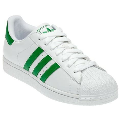 Adidas Green And White Sneakers