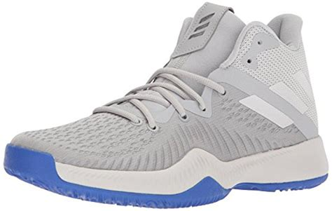 Adidas Men's Mad Bounce Basketball Shoe, Grey Two/Grey One/Grey Three, 14.5 M US