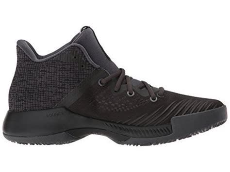 Adidas Men's Mad Bounce Basketball Shoe, Utility Black/Core Black/Grey Four, 16 M US