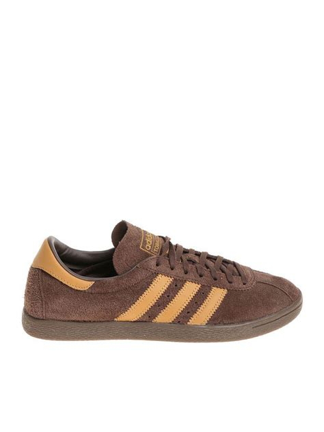 Adidas Mens Sneakers Black And Brown