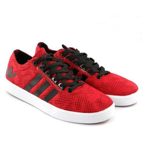 Adidas Neo 2 Sneakers Red Casual Shoes