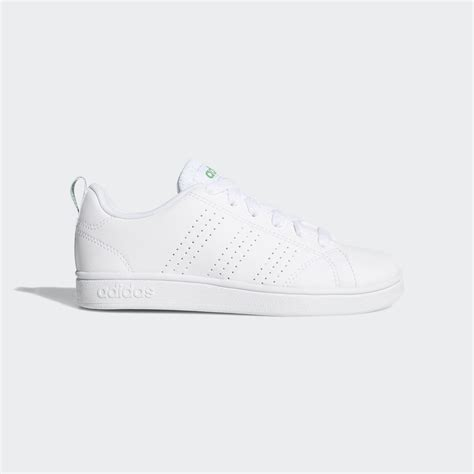 Adidas Neo Advantage Clean Vs White Sneakers