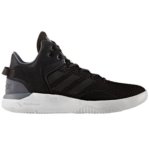 Adidas Neo Men Black Cloudfoam Revival Sneakers