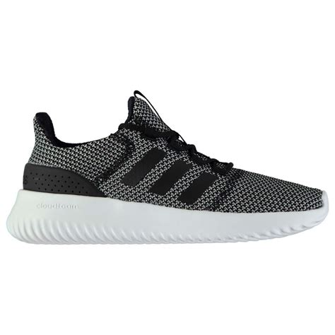 Adidas Neo Men Grey Cloudfoam Ultimate Sneakers
