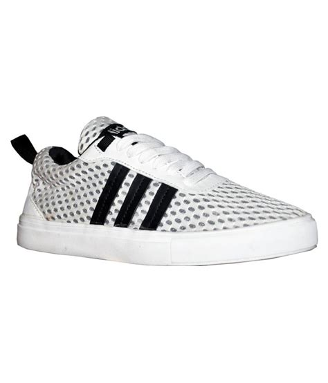 Adidas Neo White Sneakers Online India