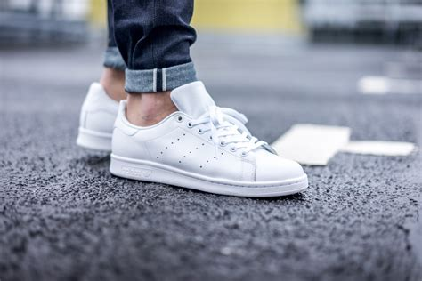 Adidas Originals All White Stan Smith Sneakers Womens