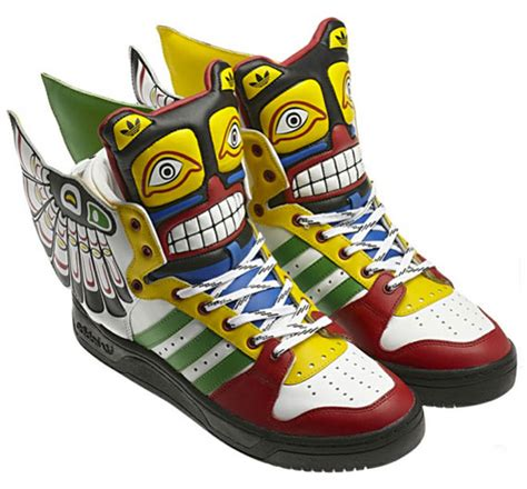 Adidas Originals By Jeremy Scott Totem Sneakers