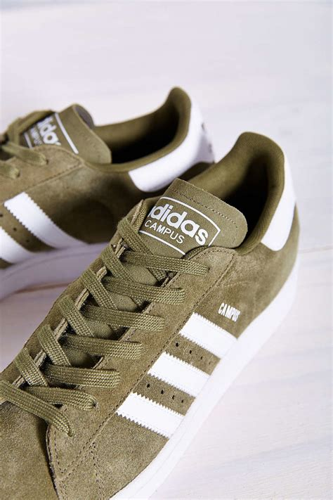 Adidas Originals Campus 2 Suede Sneaker Green