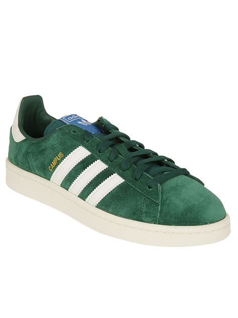 Adidas Originals Campus Sneakers With In Green
