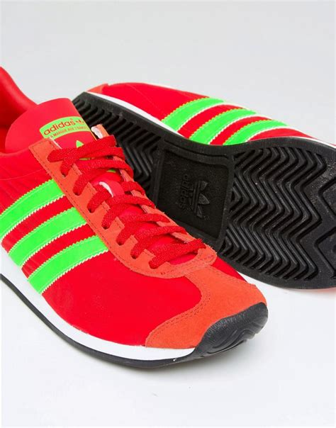 Adidas Originals Country Og Sneakers In Red S32117