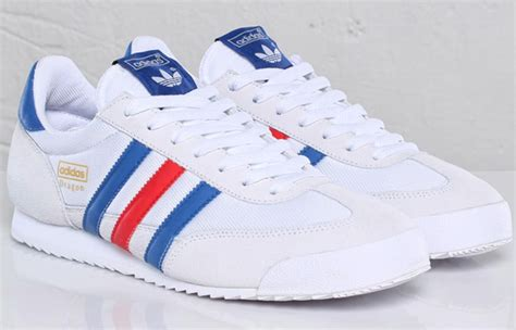 Adidas Originals Dragon Sneaker Collegiate Royal White Red