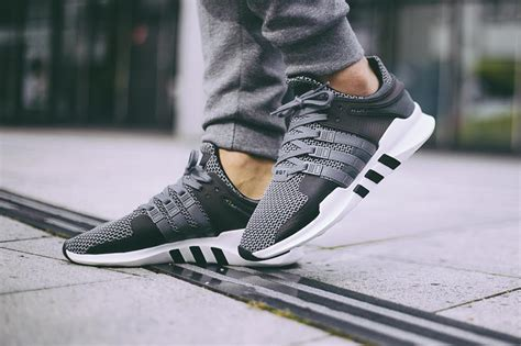 Adidas Originals Eqt Support Adv Sneakers In Gray