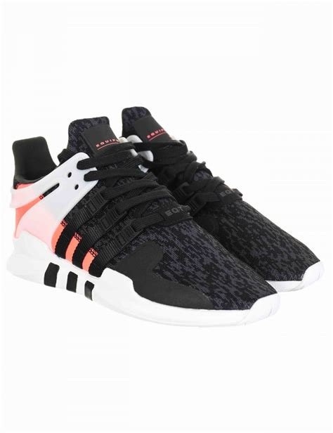 Adidas Originals Eqt Support Advance Sneakers In Black Bb1302