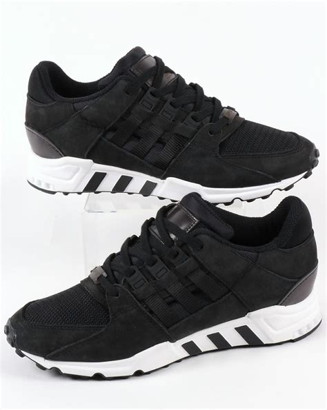 Adidas Originals Eqt Support Rf Sneakers In Black