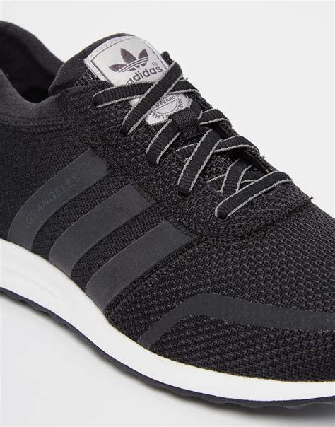 Adidas Originals Los Angeles Black White Sneakers Womens