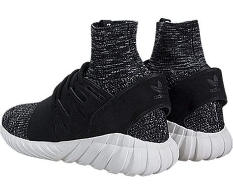 Adidas Originals Men Black Tubular Doom Sock Pk Sneakers