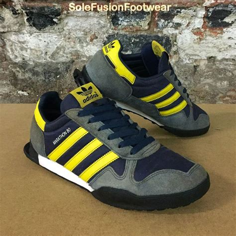 Adidas Originals Mens Marathon 80 Fashion Sneaker