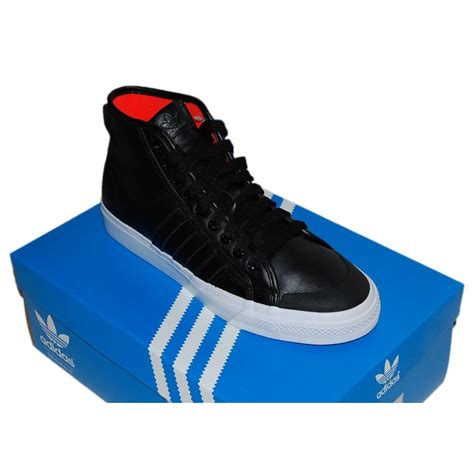 Adidas Originals Mens Nizza Hi Sneaker