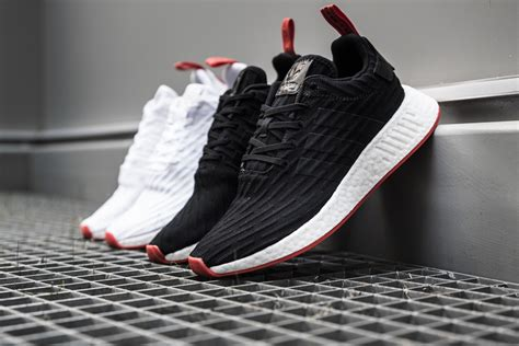 Adidas Originals Nmd R2 Sneakers In All Black