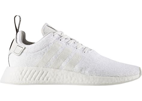 Adidas Originals Nmd R2 Sneakers In Off White