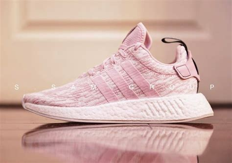 Adidas Originals Nmd R2 Sneakers In Pale Pink