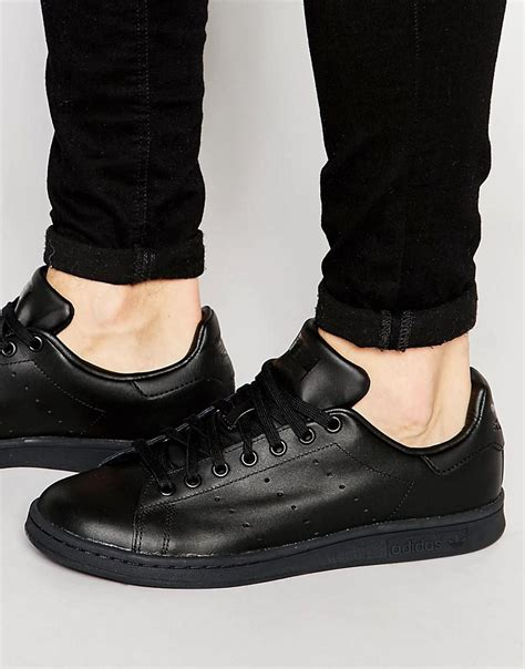 Adidas Originals Stan Smith Black Sneakers