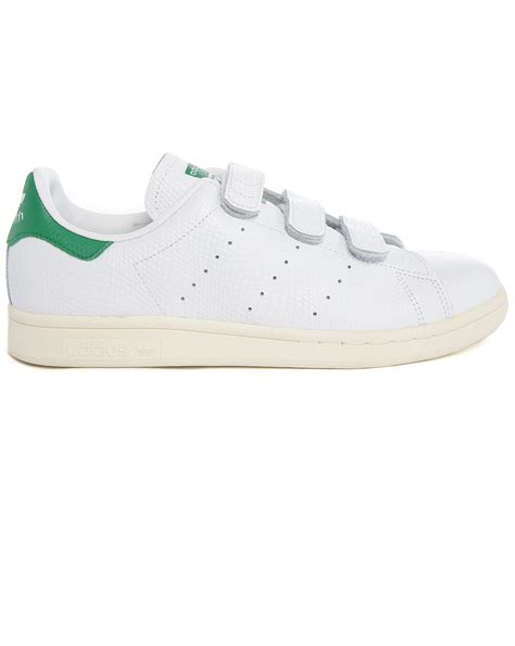 Adidas Originals Stan Smith Embossed Leather Sneakers