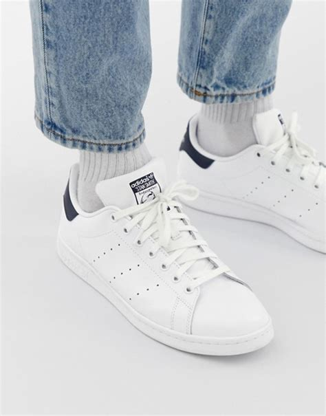 Adidas Originals Stan Smith Leather Sneakers In White M20325