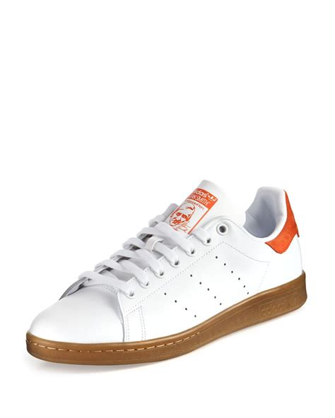 Adidas Originals Stan Smith Perforated Leather Sneakers