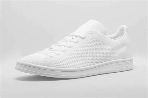 Adidas Originals Stan Smith Primeknit Sneakers In White