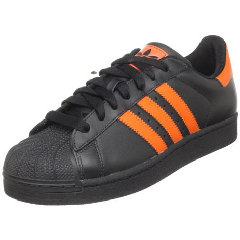 Adidas Originals Superstar 2 Black/radiant Orange Sneakers